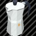 coffee kettle, hot coffee, hot tea, kettle, tea and coffee kettle icon