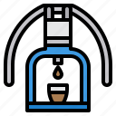 coffee, maker, plunger, press