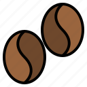 beans, coffee, coffee shop, drink, shop icon
