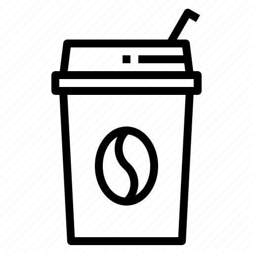 Coffee, coffee shop, drink, ice, shop icon - Download on Iconfinder