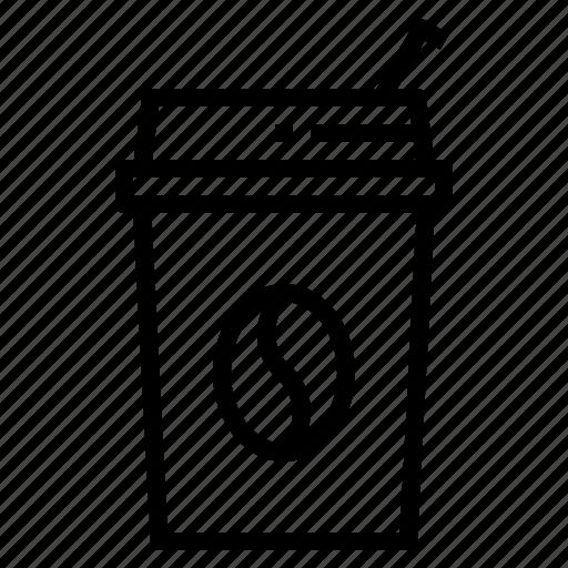 coffee, coffee shop, drink, ice, shop icon