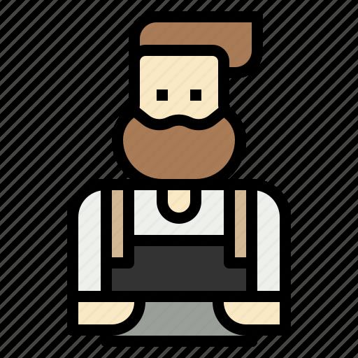 Barista, coffee, jobs, service, shop icon - Download on Iconfinder