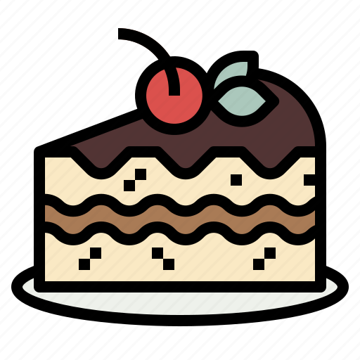 Bakery, brownie, cake, cheesecake, cherry icon - Download on Iconfinder