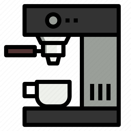 Coffee, drink, hot, machine, shop icon - Download on Iconfinder