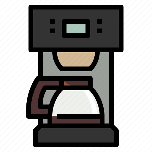 Coffee, drink, kitchen, kitchenware, maker icon - Download on Iconfinder