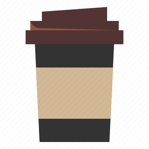 Coffee, cup, drink, hot, paper, shop icon - Download on Iconfinder
