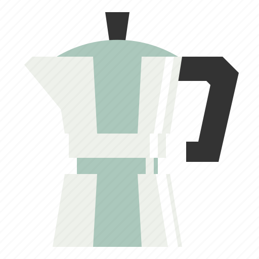 boiling, coffee, drink, hot, kettle, maker, moka, pot icon