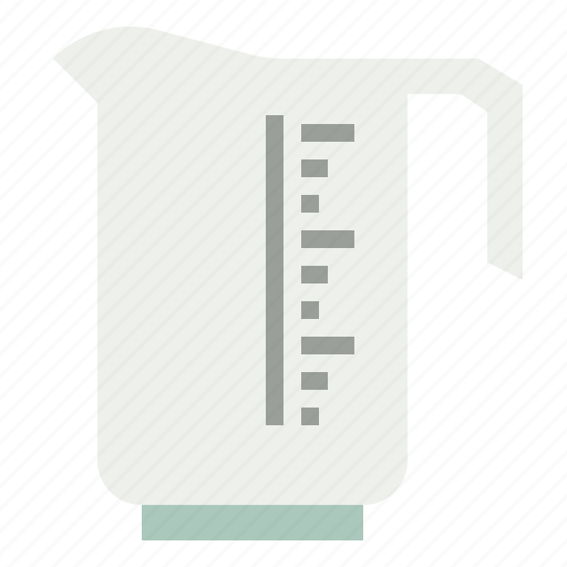 cup, measurement, measures, measuring, miscellaneous, volumetric icon