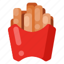 beverage, cafe, coffee shop, food, french, fries icon