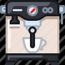 cafe, coffee, coffeemaker, drink, percolator, shop