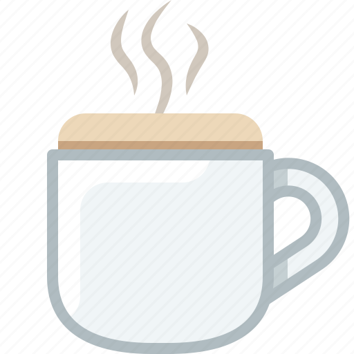 Caffeine, coffee, cup, drink, glass, hot icon - Download on Iconfinder
