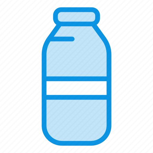 bottle, coffee, drink, glass, shop, water bottle icon