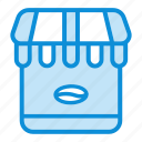 cart, coffee, online, shop, shopping, store icon