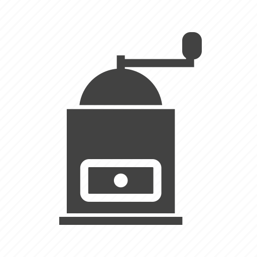 cafe, coffee, cup, drink, grinder, maker, mixer icon