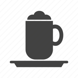 brown, cafe, cappucino, coffee, cup, espresso, latte icon