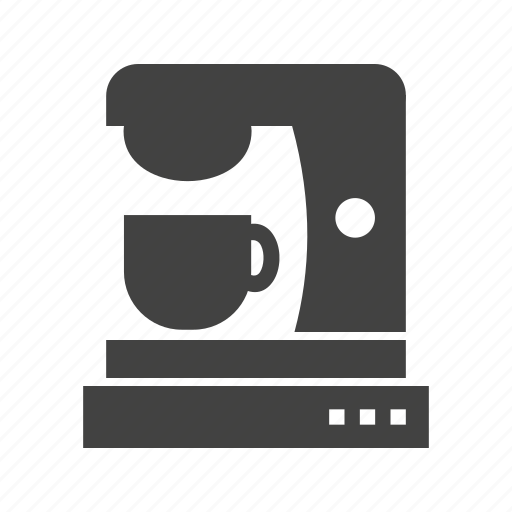 cafe, coffee, cup, drink, machine, maker, mixer icon