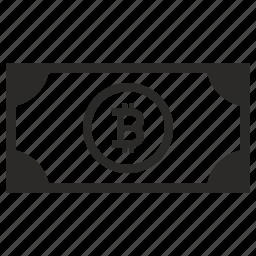 b, bitcoin, cash, money, value icon