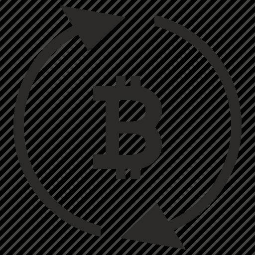 b, bitcoin, blockchain, exchange, money, value icon