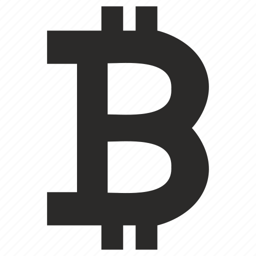 b, bitcoin, blockchain, letter, money, value, virtual icon