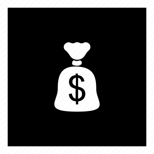 accounting, coin, currency, money, moneybag, value, wealth icon