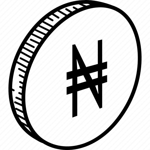 coin, naira icon