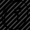 coin, tenge icon