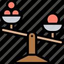 scale, balance, weight, mass, measurement