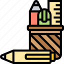 stationery, writing, pencil, office, supplies