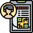 student, card, badge, identity, profile