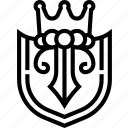 shield, academy, badge, logo, sign