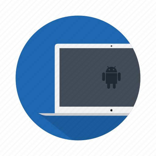 android, desktop, device, electronic, google, laptop icon