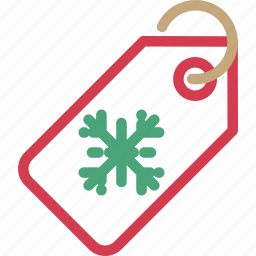 christmas, label, sale, shopping, tag icon