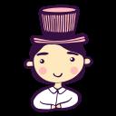 avatar, boy, cylinder, gentlemen, groom, man, wedding