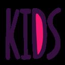 children, corner, kids, letters, nursery, word icon