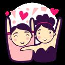 couple, happy, love, man, party, wedding, woman
