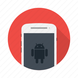 android, device, electronic, google, mobile, phone icon