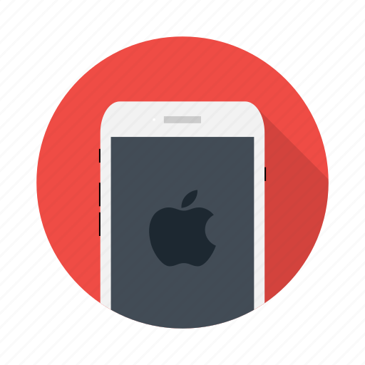 advertise, apple, device, electronic, ios, mobile, phone icon