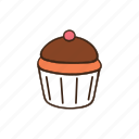 bakery, cooking, cupcake, dessert, kitchen, pastry, sweet icon