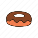 bakery, cooking, dessert, donut, kitchen, pastry, sweet icon