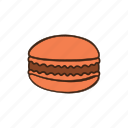 bakery, cooking, dessert, kitchen, macaroon, pastry, sweet icon