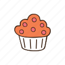 bakery, cooking, dessert, kitchen, muffin, pastry, sweet icon