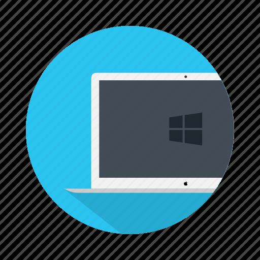 desktop, device, electronic, laptop, microsoft, windows icon