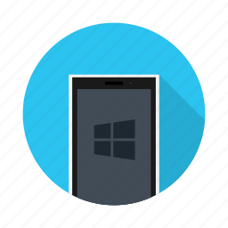device, electronic, microsoft, mobile, phone, windows icon