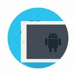 android, device, electronic, google, pad, touchpad icon