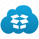 box, cloud, storage, safe, open, dropbox, zip, 7zip, program, rar, file, archive, pack