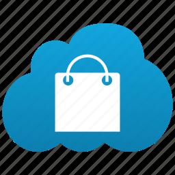 bag, buy, buyer, cloud, ecommerce, lady bag, market, sale, sales, shop, shopping, store, webshop, webstore icon