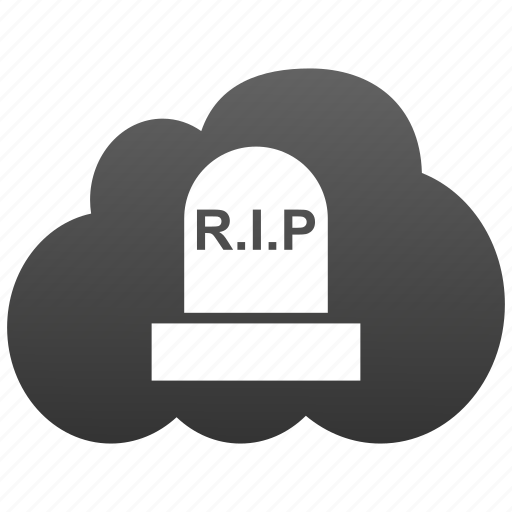 cemetery, cloud, dead, deadly, death, gravestone, grove, psyche, rip, soul, spirit, tomb, tombstone icon