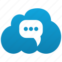 comment, cloud, opinion, chat, talk, bubble, message, speech, forum, communication
