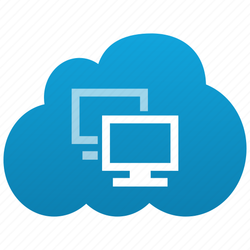 cloud, computers, connection, connections, desktop, displays, local, monitors, pc, screens, workgroup icon