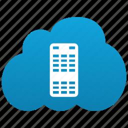 cloud, computing, datacenter, host, hoster, hosting, network, saas, server, service icon